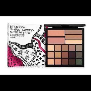 New Smashbox Makeup Palette Shadow Contour Blush